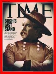 Time Magazine Bush's Last Stand