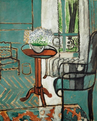 The Window, Henri Matisse, 1916, oil on canvas.