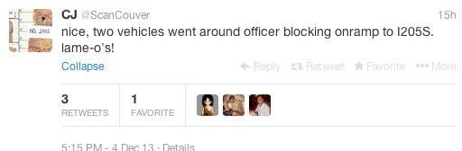 tweet car accident death 3