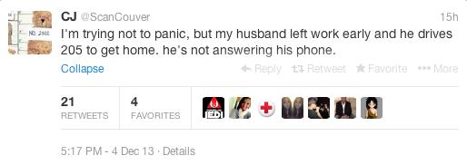 tweet car accident death 4