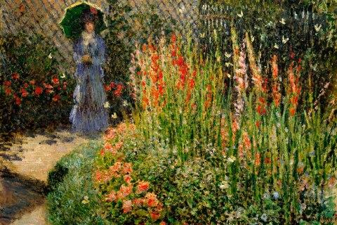 Gladioli, Claude Monet, ca 1876