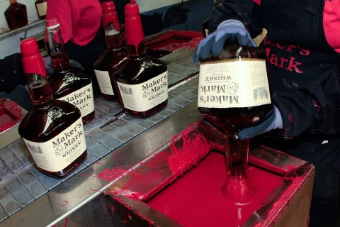 Bourbon Production At Maker's Mark Distillery