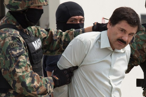 Most-Wanted Drug Leader Guzman Captured in Pacific Mexico Resort